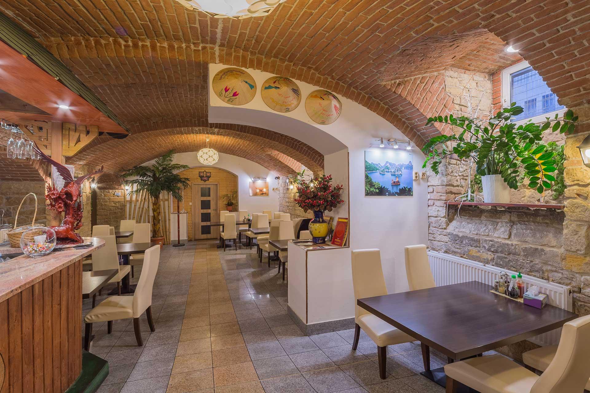 Moc Quan Restaurant - ukázka interiéru
